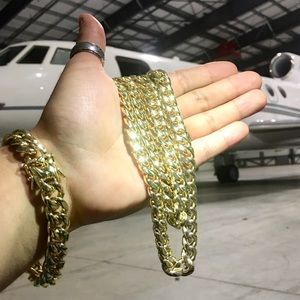 Other - CUBAN LINK 18K GOLD NEW CHAIN MADE IN ITALY!
